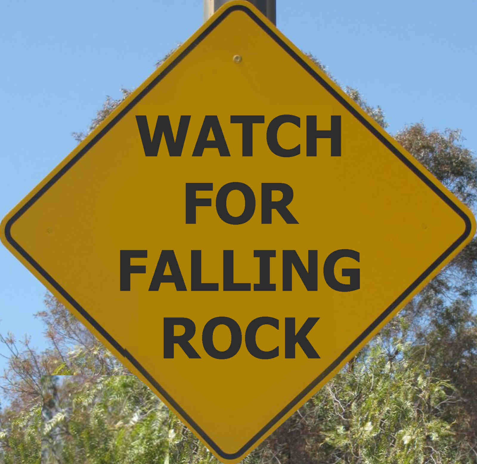 Falling Rocks and a Kegger Invitation