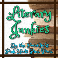 Literary Junkies Button